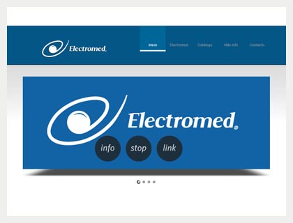 Sitio web Electromed